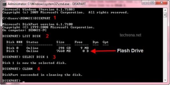 Diskpart solucion para formatear !!!