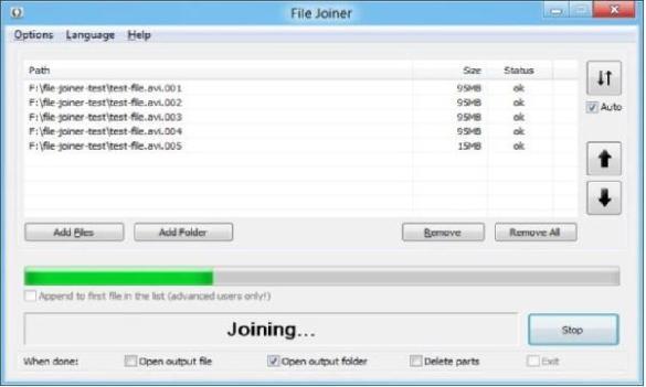 Unir archivos misma extension !!!